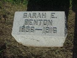 Sarah Ellen Ella <i>Mowery</i> Benton