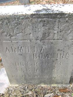 Armilda <i>Hacker</i> Bowling