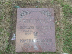 Bertha Mae <i>Carman</i> Whiteker