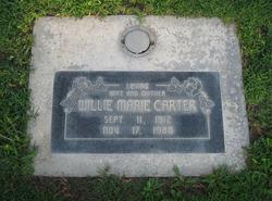Willie Marie <i>Miller</i> Carter