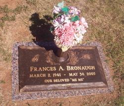 Frances Ann <i>Kinney</i> Bronaugh