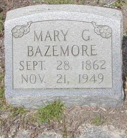 Mary <i>Griner</i> Bazemore