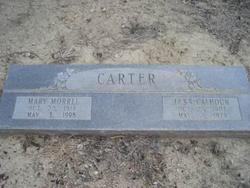 Mary <i>Morrel</i> Carter