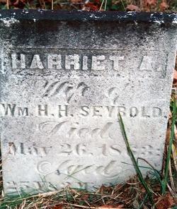 Harriet A <i>Adams</i> Seybold