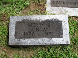 Merry <i>Berry</i> Duncan