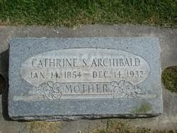 Catherine <i>Stuart</i> Archibald