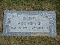Gilbert Dahle Archibald