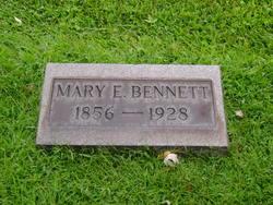 Mary E <i>Fuller</i> Bennett