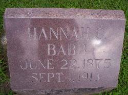 Hannah Caroline <i>Kallman</i> Babb