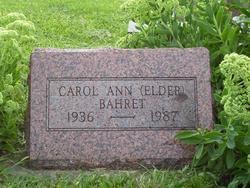 Carol Ann <i>Elder</i> Bahret