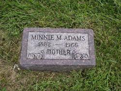 Minnie Myrtle <i>Fisher</i> Adams