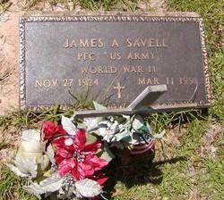 James A Savell