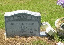 Hattie <i>Grantham</i> Adcox-Meeks