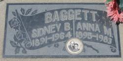 Anna May <i>Bonds</i> Baggett