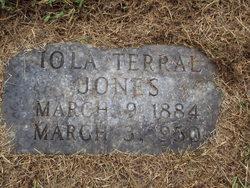 Iola B. <i>Terral</i> Jones