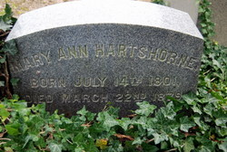Mary Ann Hartshorne