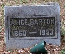 Alice <i>Sitton</i> Barton