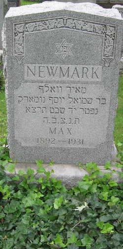 Max Meyer Wolf Newmark