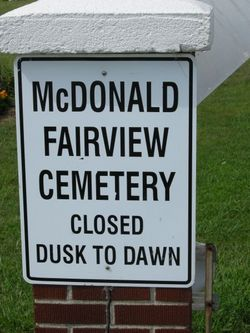 McDonald Fairview Cemetery