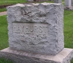 Emma <i>Hague</i> Hayhurst