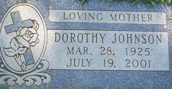 Dorothy Jean <i>Williams</i> Johnson