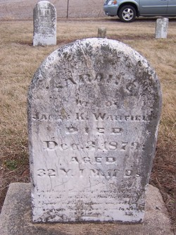 Sarah C <i>Abernathy</i> Warfield