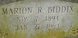 Marion Robert Biddix
