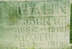 John Henry Hahn