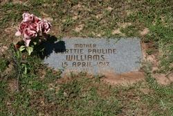 Merttie Pauline <i>Walley</i> Williams