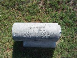 Charles Edwin Foree