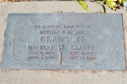 Gladys May <i>Manning</i> Clawson