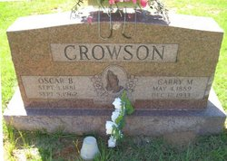 Carry Mae <i>Liddell</i> Crowson