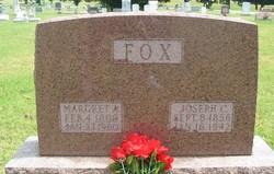 Margret Anna <i>Cox</i> Fox