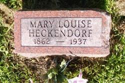 Mary Louise <i>Schmidt</i> Heckendorf