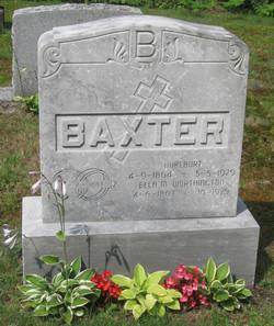 Ella M <i>Worthington</i> Baxter