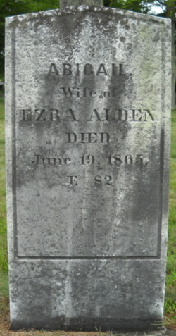 Abigail Vinton <i>Willis</i> Alden