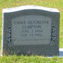 Emma <i>Duchesne</i> Cumpton
