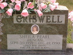 Sheila Pearl <i>Duncan</i> Criswell