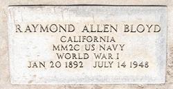 Raymond Allen Bloyd