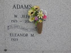 Eleanor M Adams