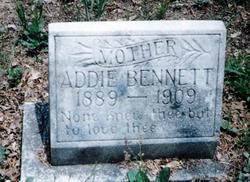 Addie <i>Jamerson</i> Bennett