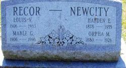 Hayden Edward Newcity