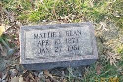 Mattie Ella <i>Gertly</i> Bean