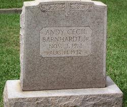 Andy Cecil Barnhardt, Jr