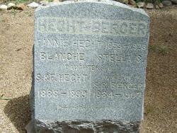Stella S. <i>Hecht</i> Berger
