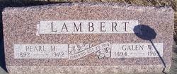 Pearl May <i>Snyder</i> Lambert