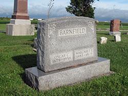 Margaret Emma <i>Evans</i> Barnfield
