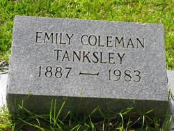Emily Caroline <i>Coleman</i> Tanksley