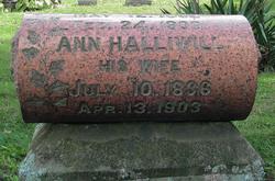 Nancy Ann <i>Halliwell</i> Lance