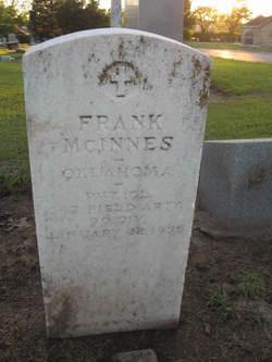 Pvt Frank McInnes